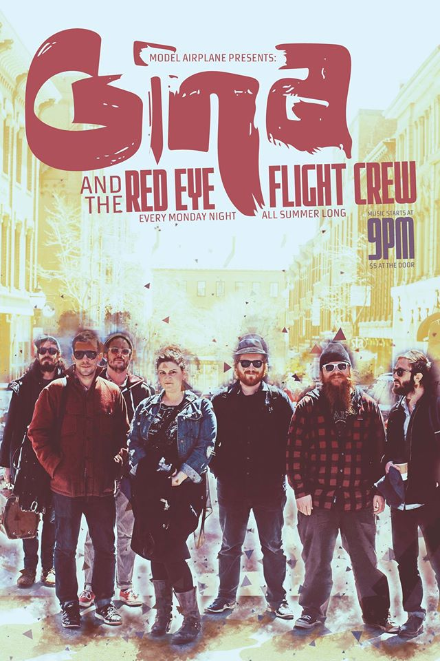 Check out Gina Alibrio and the Red Eye Flight Crew at Portland House of Music tonight