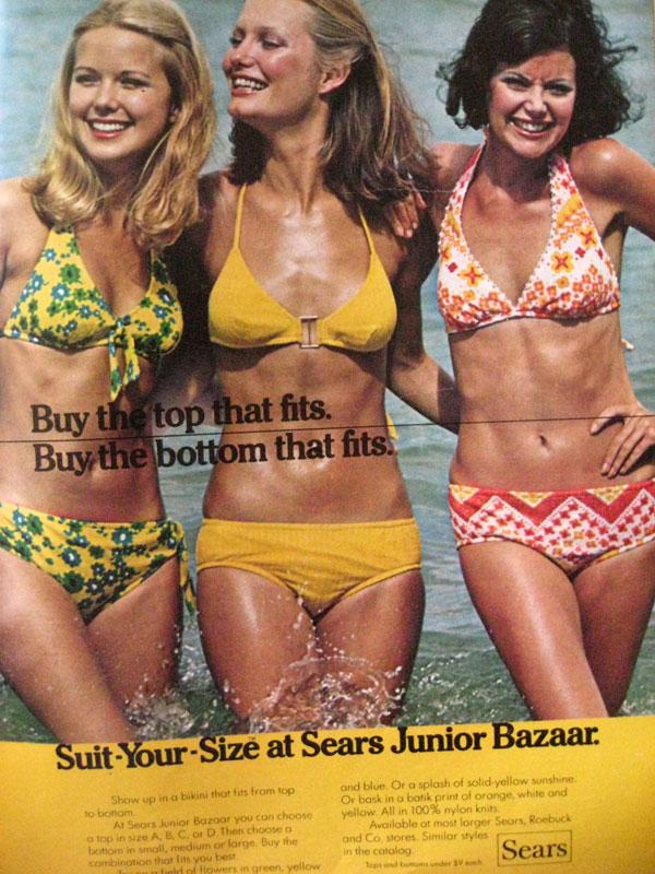 d782cc18db 1970's Swimwear & Beach Culture - Factory Vintage
