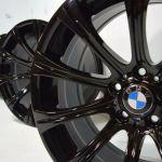 19 Bmw M5 Bbs Wheels Rims Black Factory Oem M5 E60 19 550i 535i Gloss Black Factory Wheel Republic