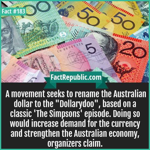 183-DollarDoo-A movement seeks to rename the Australian dollar to the