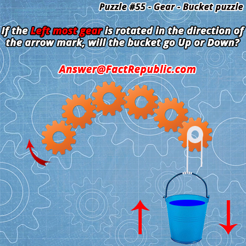 Gear-Bucket Puzzle Answer