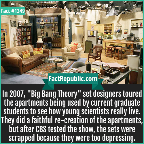 1349. Big Bang Theory-In 2007,