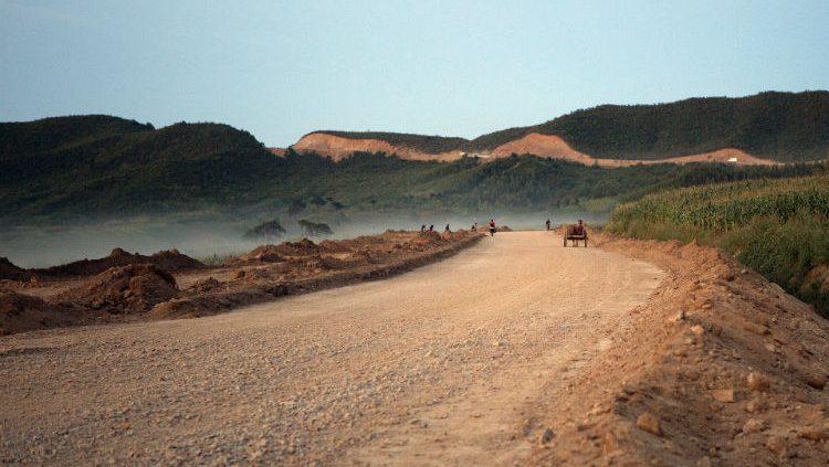 Roads in North Korea
