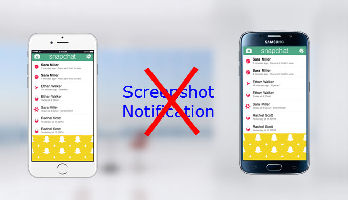 How to screenshot or record videos on Snapchat without them