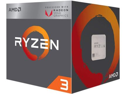 AMD Ryzen 3 2200g with VEGA 8