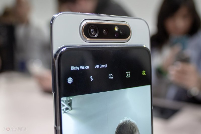 Samsung Galaxy A80 front