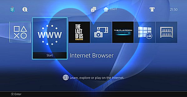 PS4 Browser PS5