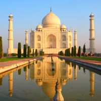 Taj Mahal Facts for Kids - A Tomb built of Stones & Ivory-White Marble
