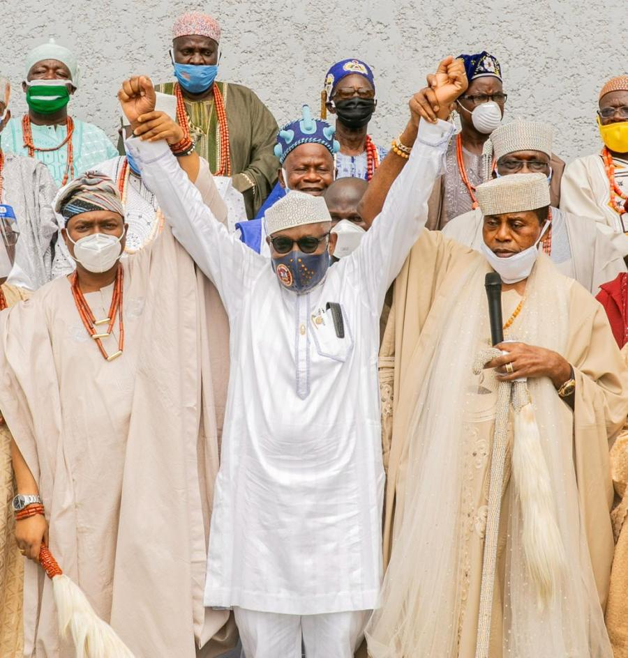 Ondo 2020: Traditional Rulers Endorse Akeredolu For Second Term