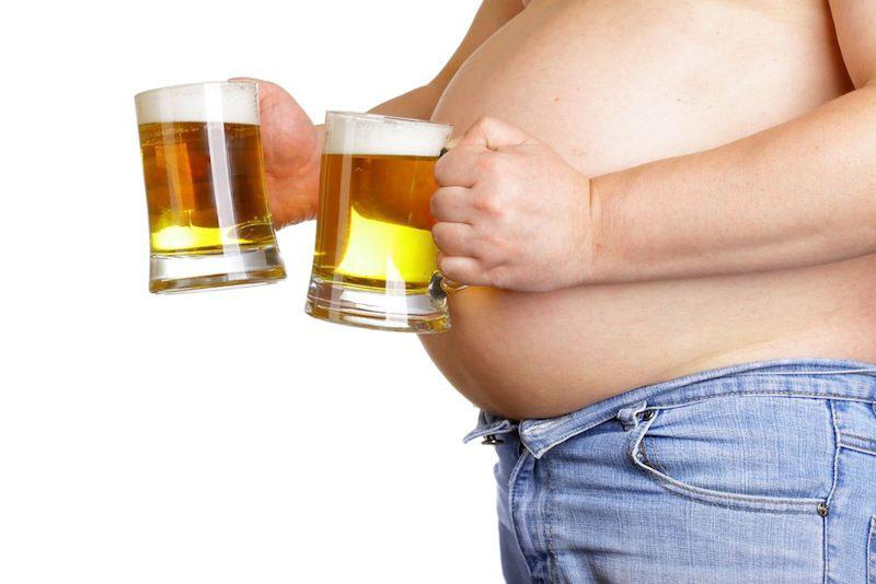 Негативные последствия от активного потребления пива