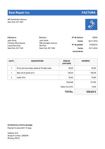100 modelos de facturas en pdf descarga o envía facturas gratis