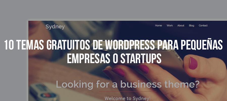 10 Temas gratuitos de WordPress para pequeñas empresas o Startups ...