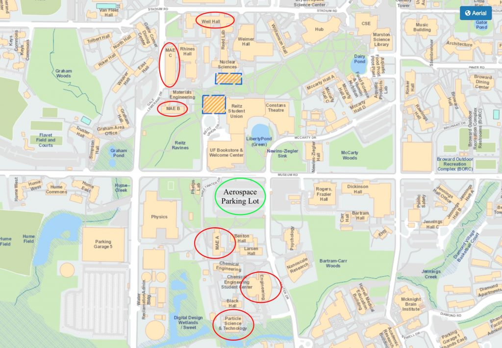 Southern Florida Campus Map University
