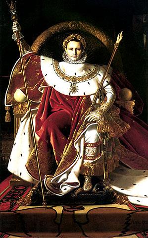 Napoleone sul trono