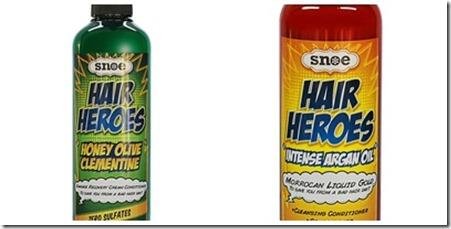 snoe hair