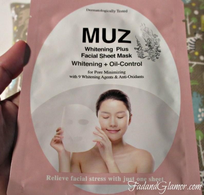 Muz Whitening Mask