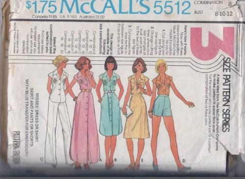 mccalls 5512