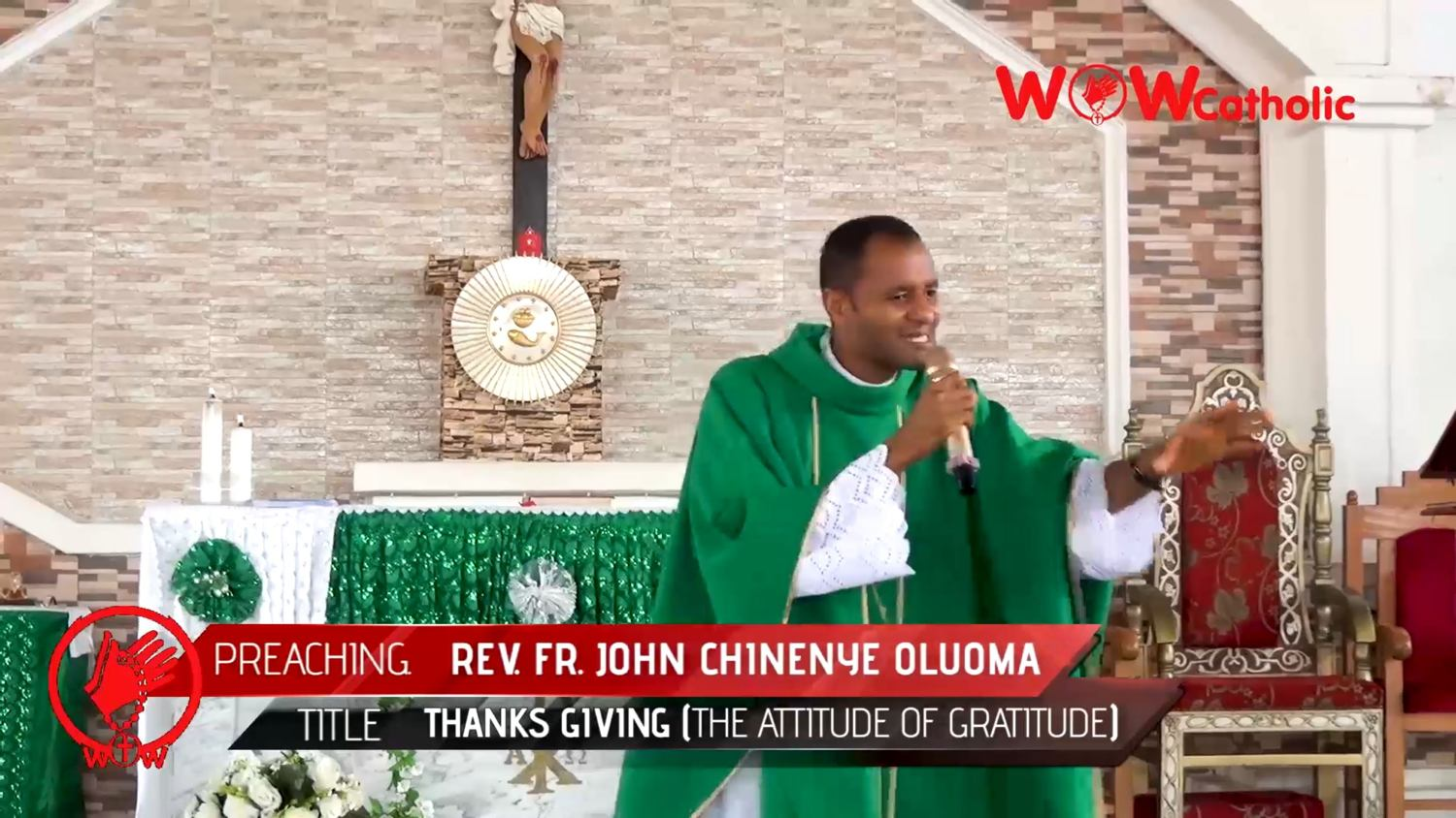 Catholic Priest Clears Air On Christmas