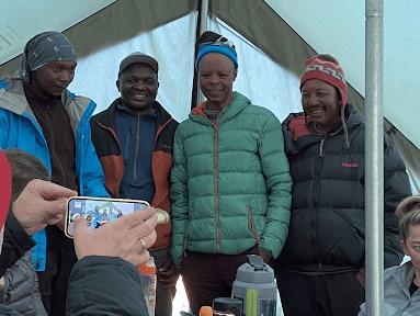 Climbing Kilimanjaro with Justin Caplan – Part 14