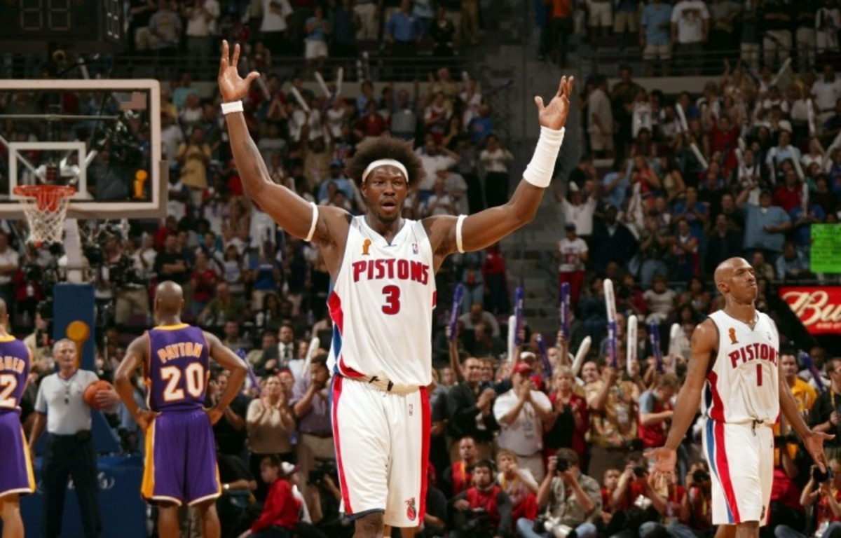Image result for ben wallace pistons