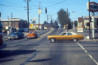 NE 33rd and Broadway, Portland, OR. 1976