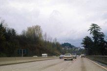 I-5 North near Terwilliger Curves. 1974