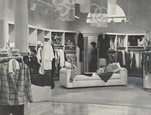 """""""The Mercantile sets a fast pace for sophisticated women's fashions"""" Photo: Cathy Cheney"""