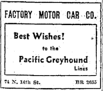 Merry-wishers from all over the city excitedly congratulating Greyhound.
