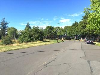 Willamette Blvd at Jessup. July, 2016
