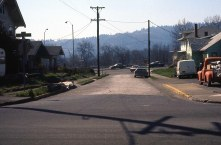 McLoughlin Blvd from SE. Milwaukie Ave. Portland, 1977