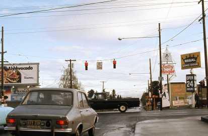 SE 39th @ Powell, NB. Portland, 1974