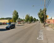SE 82nd, near Brooklyn St. Photo: Google, 2014