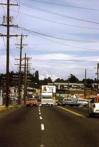 SE Powell Blvd at 30th Ave. Unknown date.