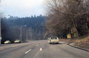 Barbur Blvd, Portland. 1974