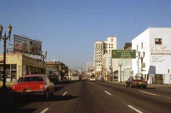 SE Grand Blvd at Salmon, Portland, OR. 1982