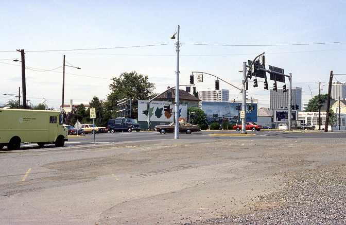 12th at Burnside and Sandy Blvd, 1986