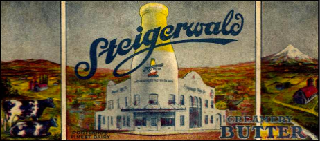 Steigerwald used the landmark building extensively in advertising. Photo: pdxhistory.com