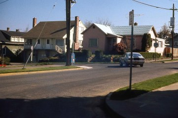 SE 76th at Yamhill St, Portland, OR. 1976