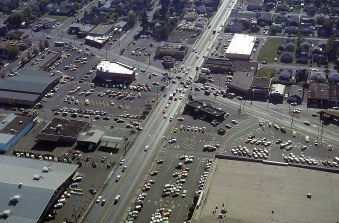 SE 82nd Ave at Foster, 1982