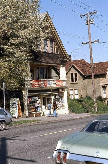 Slim's Grocery, Portland, 1977