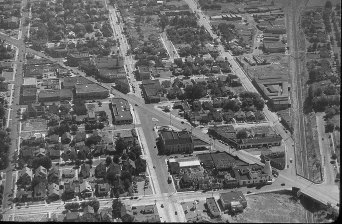 Above The Hollywood District, Portland, OR. c.1930s