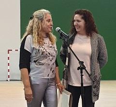FADEMUR no xantar da Asociación de mulleres rurais AMURUSA en Santiso