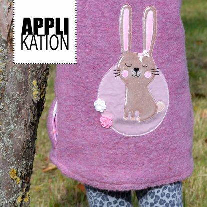 Applikation Hase Waldbewohner