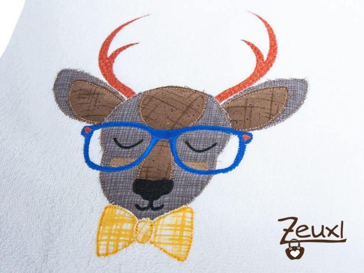 Doodle Hipster Hirsch Joe