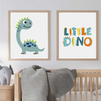 Poster Dino Langhals