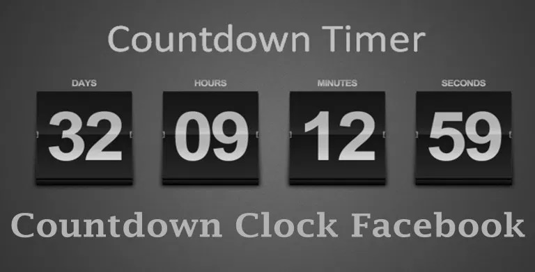Countdown Clock Facebook