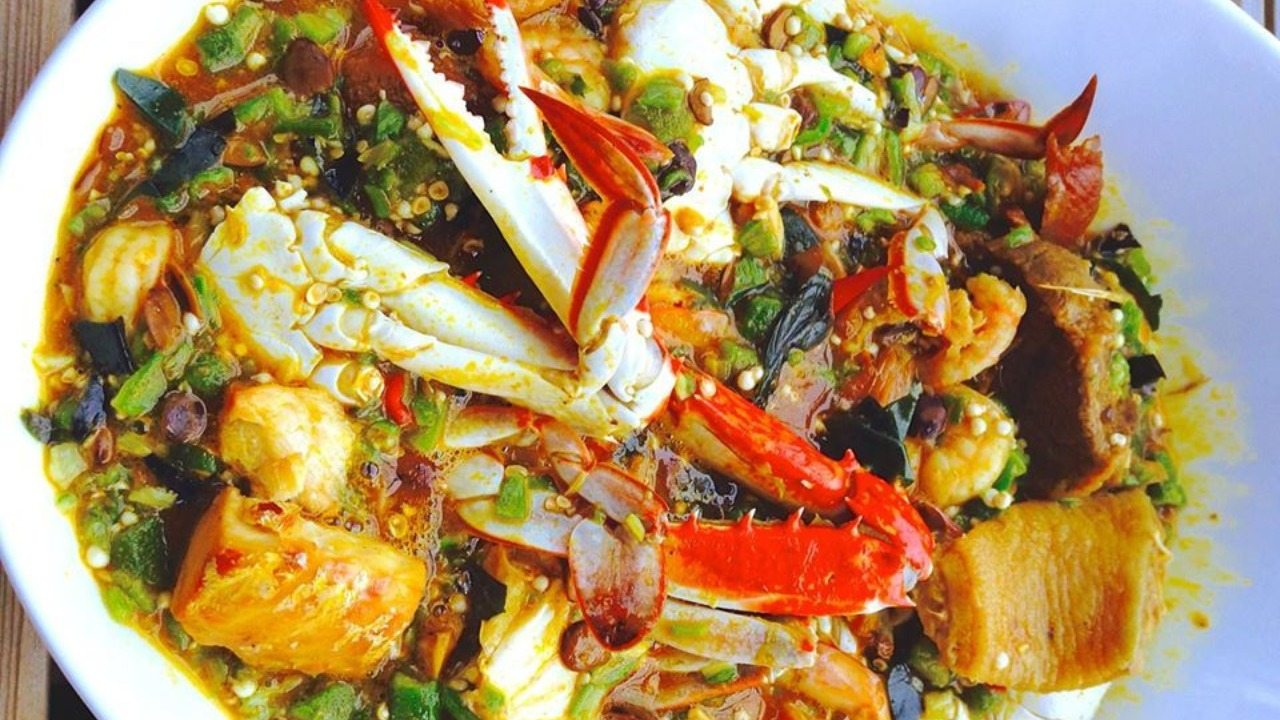 Fad Okro Sea Food Gumbo+