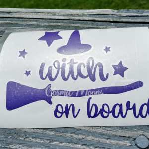 witch on board