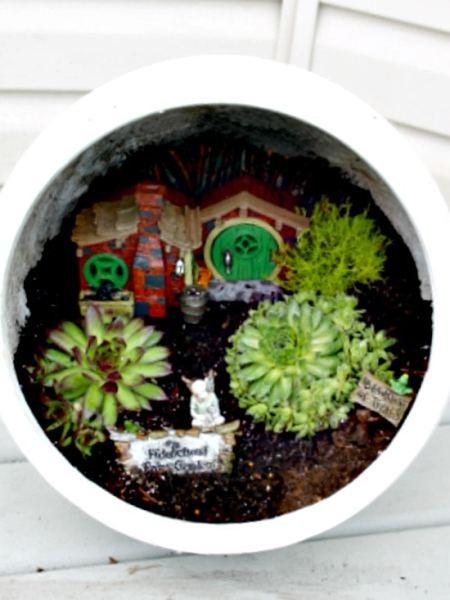 Fairy Garden, Fairy Garden Ideas, Container Garden