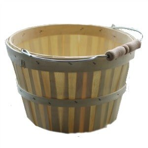 Basket, Fall, DIY, Decor, Staining